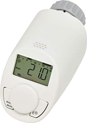 eqiva 132231K2 Termostato elettronico per radiatore, Bianco