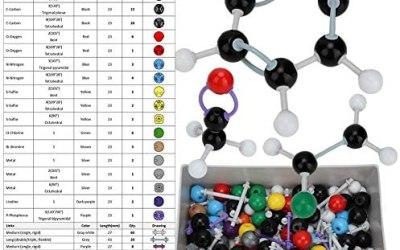 267 pezzi Modello molecolare, insieme di chimica modello molecolare di…