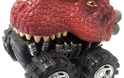 Deluxebase Zoomies Selvaggio – Dinosauro T-Rex Camion di Mostro…