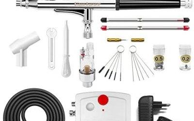 Gocheer 100-250V Mini Kit aerografo Professionale compressore aerografo Set…