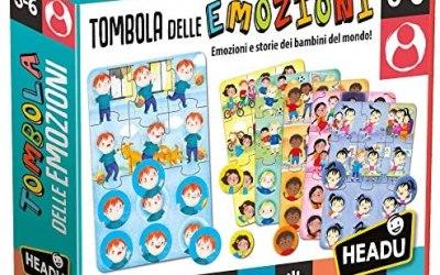 Headu – Tombola delle Emozioni – Gioco Educativo per Bambini dai 3 ai 6…