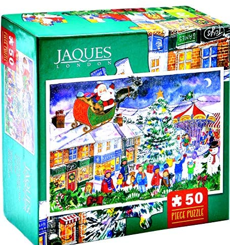 Jaques of London Christmas Jigsaw - Christmas Fair 2018 Jigsaw - Puzzle per...