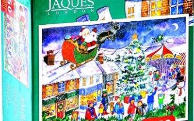 Jaques of London Christmas Jigsaw – Christmas Fair 2018 Jigsaw – Puzzle per…