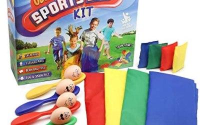 KreativeKraft Sports Day Kit   Mega Set 18 Pezzi per Festa di Compleanno…