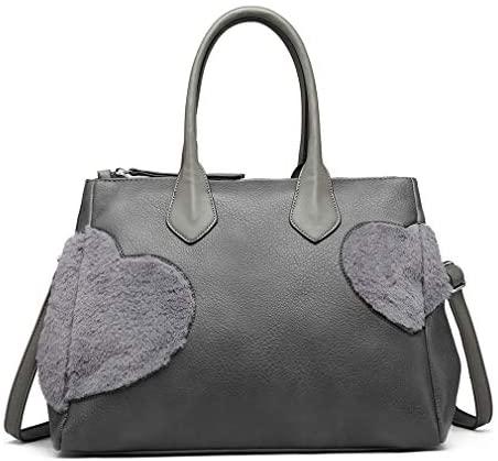Miss Lulu Donne alla moda Borse a tracolla Hobo Peluche carino A forma di...