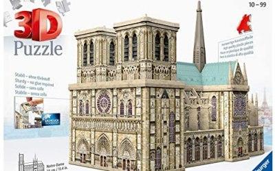 Ravensburger Notre Dame – Puzzle 3D Building Maxi