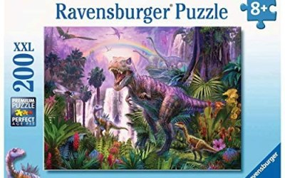 Ravensburger Puzzle – Paese dei Dinosauri Puzzle 200 XXL, 12892 1