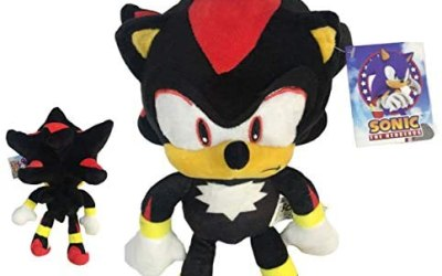 Sonic – Peluche Shadow The Hedgehog 11'80″/30cm Colore Nero qualità Super…