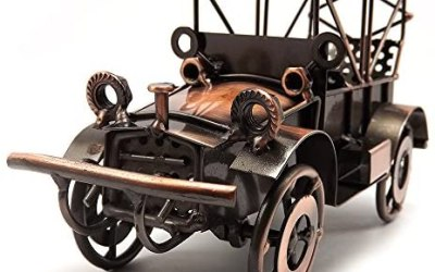 Tipmant Antiquariato del Metallo d'Epoca Vecchio Modello di Auto Home Decor…