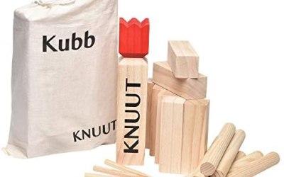 Toyfel KUBB Gioco degli Scacchi Vichingi Knuut – Scacchi svedesi Legno…
