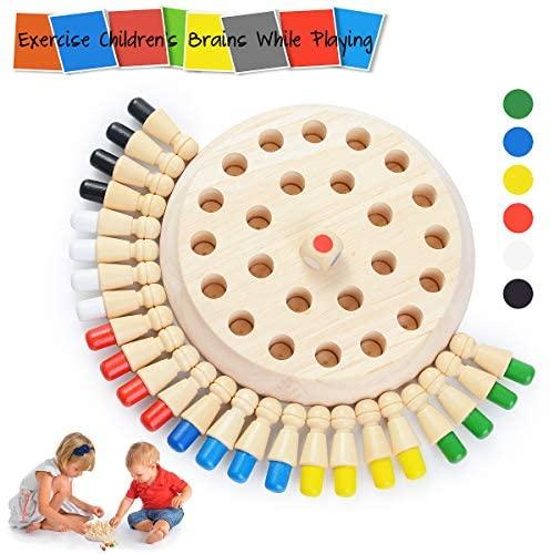 Ulikey Bambini Memory Stick Gioco, Gioco di Scacchi Memory Stick, Scacchi...