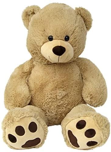 Wagner 9055–Grande orso gigante XXL 100cm in marrone chiaro–orsetto...