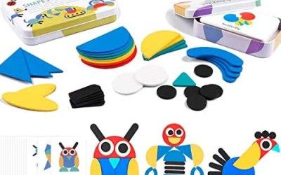 iLink I Giochi a Puzzle in Legno di Montessori per Bambini, i Pezzi di…