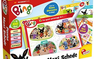 Lisciani Giochi – Bing Penna Maxi Schede Gioco per Bambini, 76871