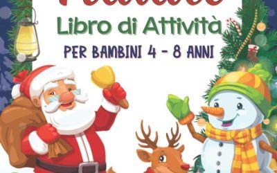 NATALE Libro di Attività per Bambini 4-8 Anni: Libro Dei Giochi Educativi…