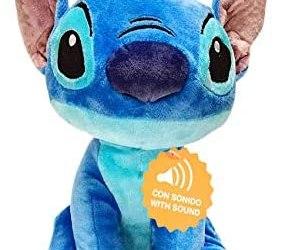 Play by Play Peluche Soft Stitch Disney con Suono 30cm – (460018232)