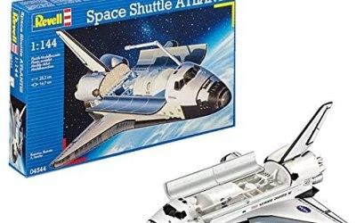 Revell 04544 – Space Shuttle Atlantis Kit di Modello in Plastica, Scala…