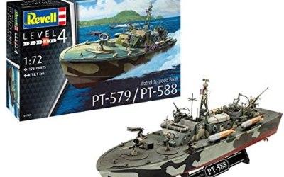Revell- Patrol Torpedo Boat PT-588/PT-579 Kit di Modelli in plastica,…