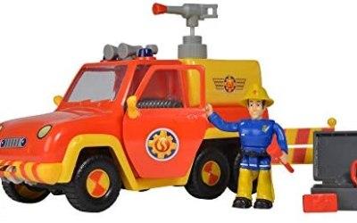 Simba Fireman Sam 109257656 – Firetruck Venere Figura, Rosso / Giallo