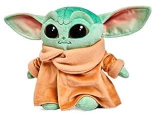 Star Wars - 19474 - Peluche Baby Yoda Mandalorian Originale Disney Play By...