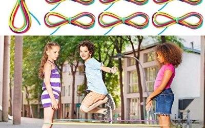 10 Pezzi Corda Saltare Cinese Corda Elastica Colorata Corda Saltare Fitness…