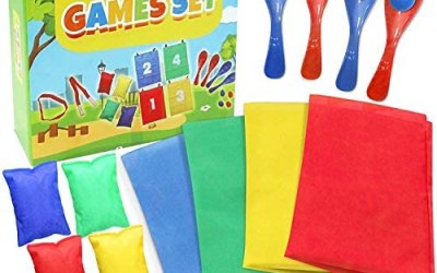 The Twiddlers Sports Day Kit   18 Pezzi Set di Giochi per Feste   4 in 1…