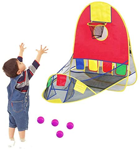 Tenda da basket, gioco educativo pieghevole per tenda da basket all'aperto...