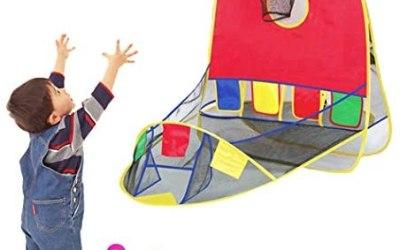 Tenda da basket, gioco educativo pieghevole per tenda da basket all'aperto…