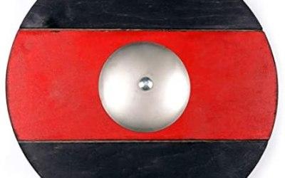 WS Toys – Targa rotonda con mini spada laccata per giochi all'aperto, parte…
