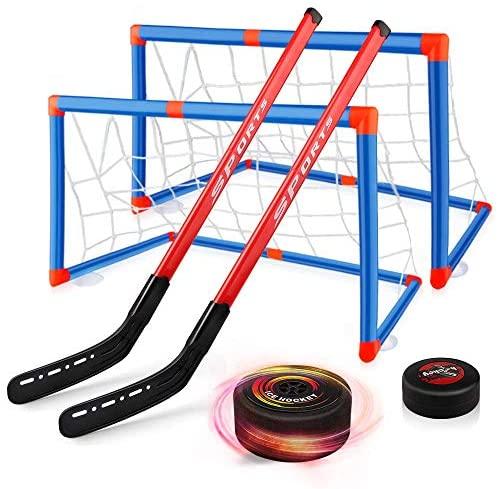 Baztoy Hockey Set per Bambini, Kit Hockey Gioco di Allenamento con 2...