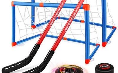 Baztoy Hockey Set per Bambini, Kit Hockey Gioco di Allenamento con 2…