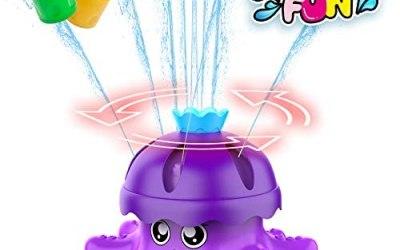 FOSUBOO Giochi D Acqua Giardino per Bambini,d'Acqua Giocattolo di Polpo per…
