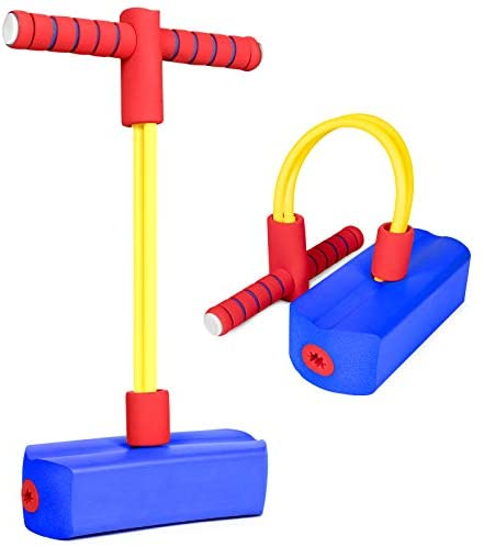 iNeego Pogo Stick Giocattoli per 3 Anni, Schiuma Pogo Jumper Stick per...