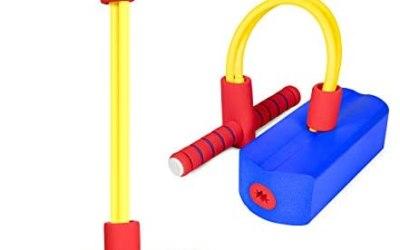 iNeego Pogo Stick Giocattoli per 3 Anni, Schiuma Pogo Jumper Stick per…