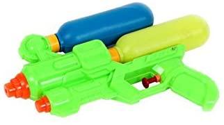 BLUESKY Pistola ad acqua a pompa con doppio serbatoio – Multicolore – 48076…