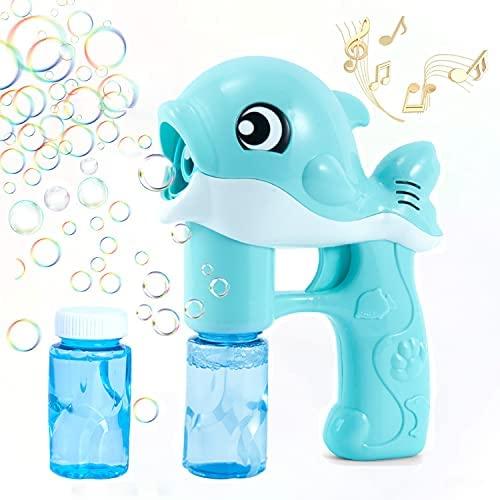 Bolle di Sapone,Macchina per Bolle, Bubble Maker Automatico,Carino Dolphin...