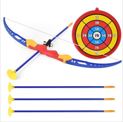 Locisne Set di Giocattoli Freccia con Arco con Ventosa Bersaglio Frecce...