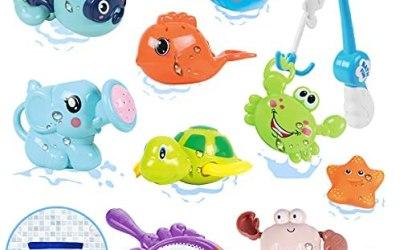 Luclay Giochi Bagnetto, Giochi Bagnetto Neonato per 1 2 3 4 5 Anni Bambini,…