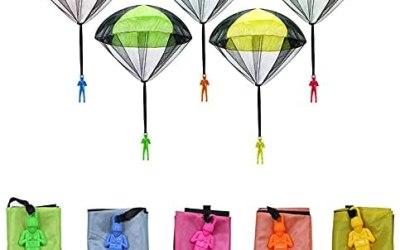 Sinwind Giocattoli Paracadute, Mano Lancio Paracadute, Giocattolo per…