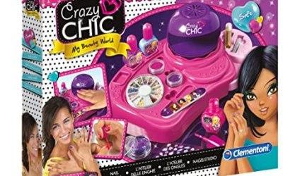Clementoni – 15770 – Crazy Chic – L'Atelier delle Unghie – set unghie e…