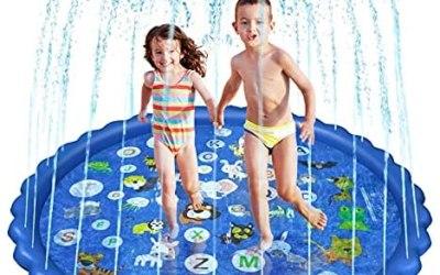Czemo 68 Pollici Tappetino Gioco d'Acqua per Bambini, Estivo Splash Play…