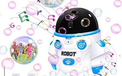 Macchina per bolle per bambini, soffiatore automatico di bolle 1000+ al…