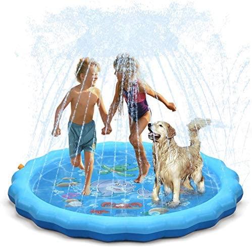 Dioxide Tappetino Gioco d'Acqua per Bambini, (67 '' / 170 cm) Splash Play...