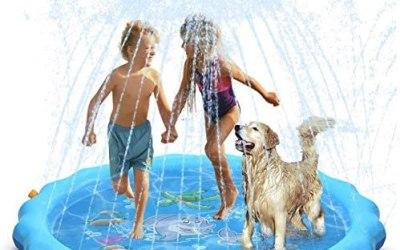 """Dioxide Tappetino Gioco d'Acqua per Bambini, (67 """" / 170 cm) Splash Play…"""