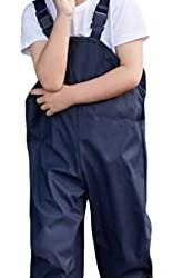 IDGREATIM Pantaloni da Pioggia per Bambini Pantaloni Impermeabili Bambino…