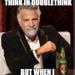 common module nineteen eighty-four doublethink meme