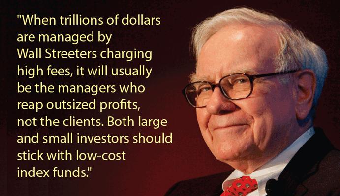 Warren Buffett on Index Funds