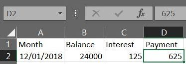 Excel Loan Payment 01