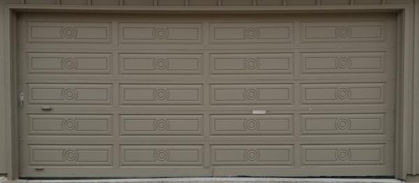Ye olde garage door