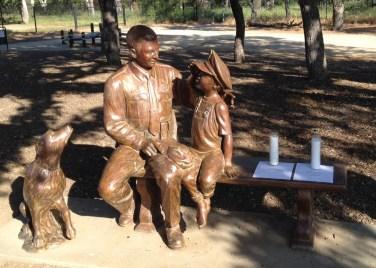 The Officer Jeffrey Fontana statue